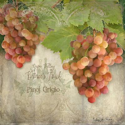 Vintage Wine Lovers Paintings Prints