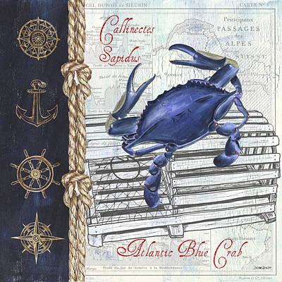 Designs Similar to Vintage Nautical Crab