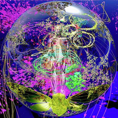 Stellar Digital Art Original Artwork
