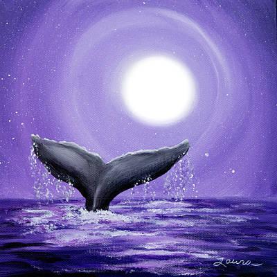 Sea Moon Full Moon Paintings Original Artwork