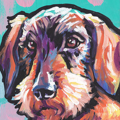 Weiner Dog Paintings