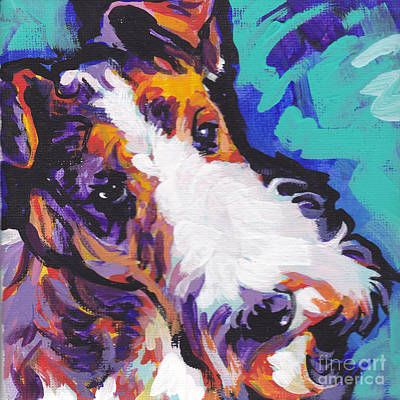 Wire Fox Terrier Paintings
