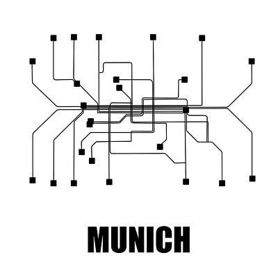 Designs Similar to Munich White Subway Map