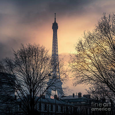 Designs Similar to Paris  Eiffel Tower At Sunset