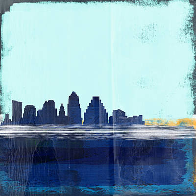 Designs Similar to Austin Abstract Skyline I