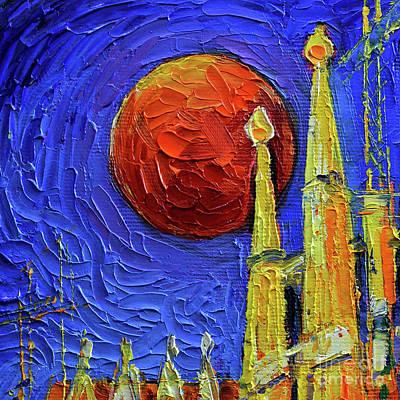 Designs Similar to Blood Moon by Mona Edulesco