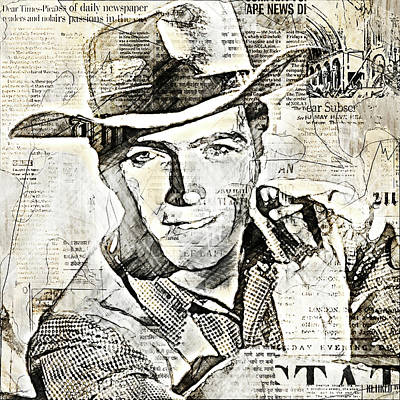 Designs Similar to Clint Eastwood Stars And Media