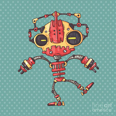 Designs Similar to Clumsy Robot by Andrew Derr