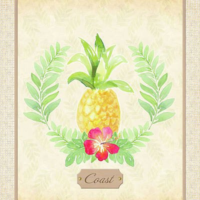 Designs Similar to Coast Pineapple by Lanie Loreth