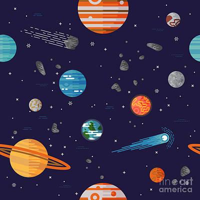 Astronomical Digital Art