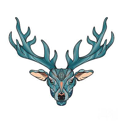 Antlers Digital Art