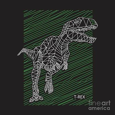 Designs Similar to Dinosaur T Rex Illustration