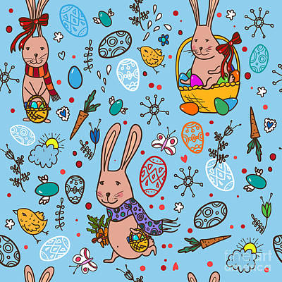 Designs Similar to Easter Bunny Pattern