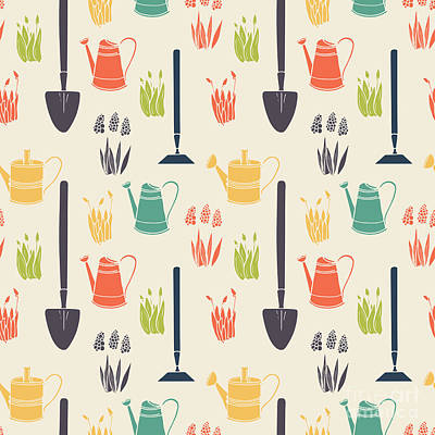 Designs Similar to Garden Seamless Pattern