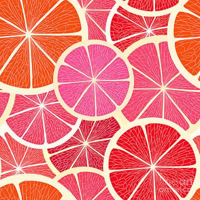 Designs Similar to Grapefruit Seamless Background