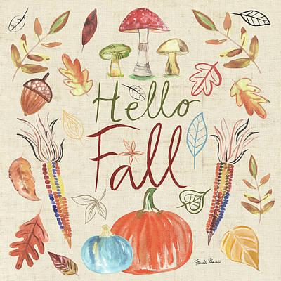 Designs Similar to Hello Fall I Sq Burlap