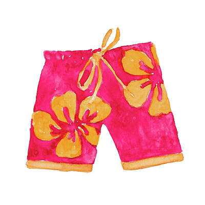 Designs Similar to Hibiscus Pink Board Trunks