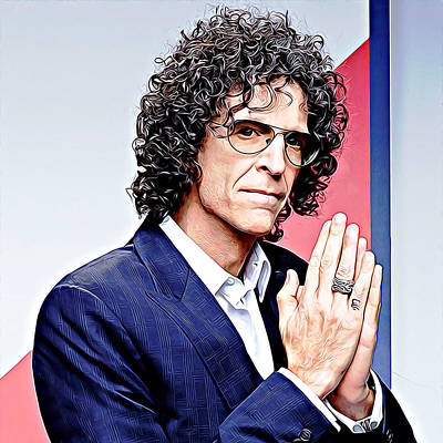 Designs Similar to Howard Stern by Queso Espinosa