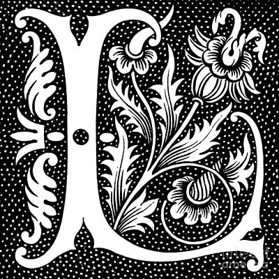 Designs Similar to Illuminated Letter L