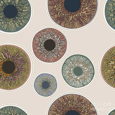 Designs Similar to Iris Seamless Pattern. V1.0