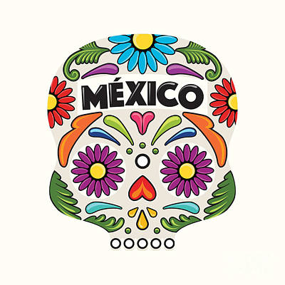 Designs Similar to Mexican Holiday Skull by Akbaly