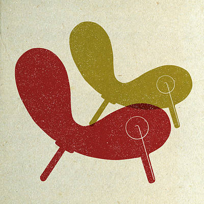 Designs Similar to Mid Century Chair Collage I