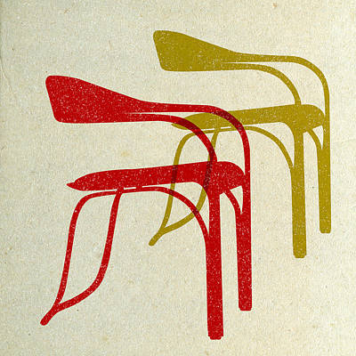 Designs Similar to Mid Century Chairs Print II
