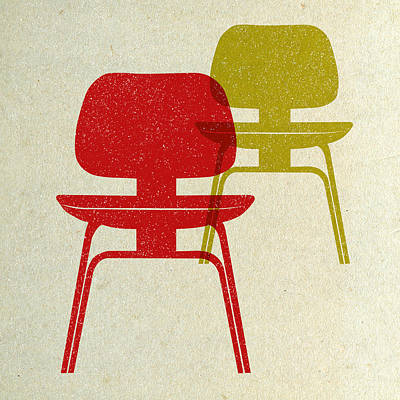 Designs Similar to Mid Century Chairs Print