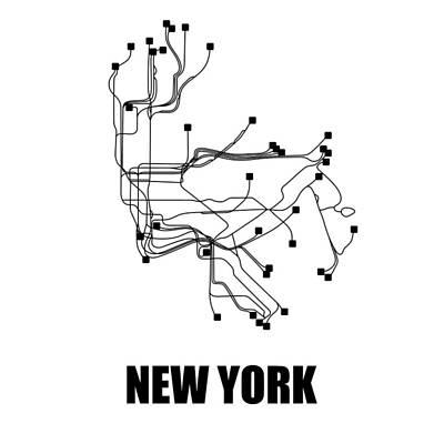 Designs Similar to New York Square Subway Map 2