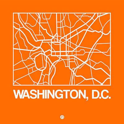 Designs Similar to Orange Map Of Washington, D.c.
