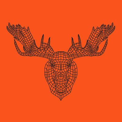 Designs Similar to Orange Moose by Naxart Studio