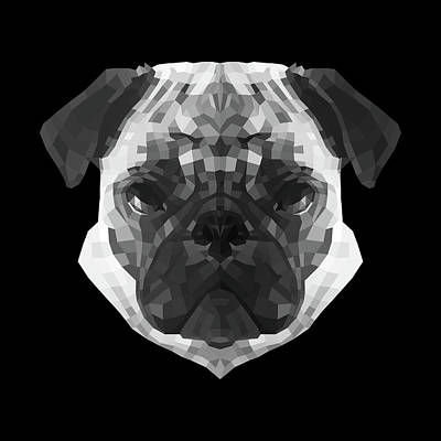Designs Similar to Pug's Face by Naxart Studio