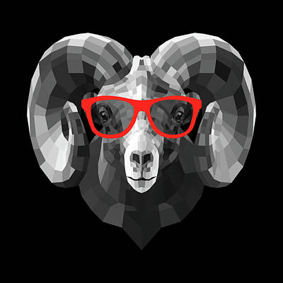 Designs Similar to Ram In Red Glasses