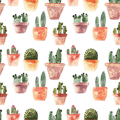 Designs Similar to Seamless Pattern With Cactus