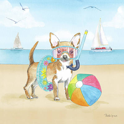 Designs Similar to Summer Paws II No Words