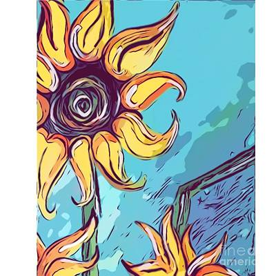 Designs Similar to Sunflowers by Marisa Fife
