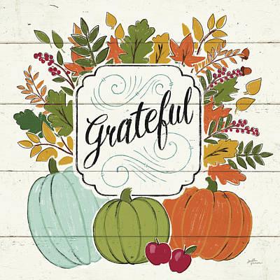 Designs Similar to Thankful II White Leaves