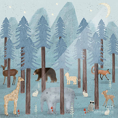 Designs Similar to The Blue Forest by Bri Buckley