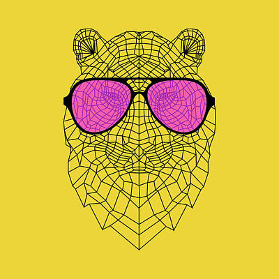 Designs Similar to Tiger In Pink Glasses