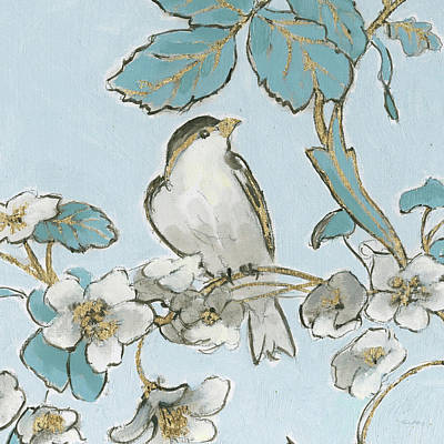 Designs Similar to Toile Birds IIi by Emily Adams