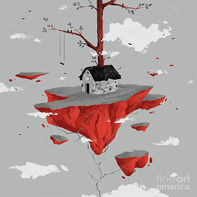 Designs Similar to Tree On A House  by Gull G