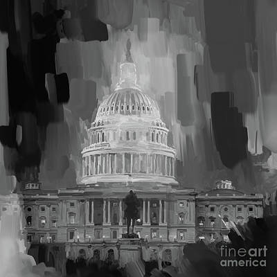 Designs Similar to Washington Dc Black N White 00e