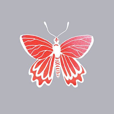Designs Similar to Watercolor Butterfly On Gray V