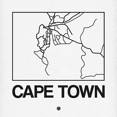 Designs Similar to White Map Of Cape Town