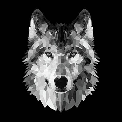 Designs Similar to Wolf's Face by Naxart Studio