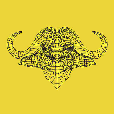 Designs Similar to Yellow Buffalo by Naxart Studio
