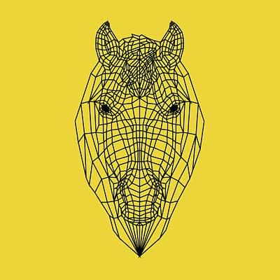 Designs Similar to Yellow Horse by Naxart Studio