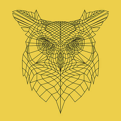 Designs Similar to Yellow Owl by Naxart Studio