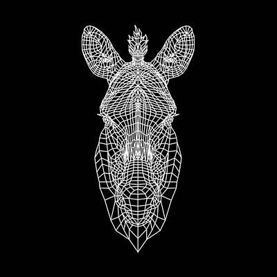Designs Similar to Zebra Mesh by Naxart Studio