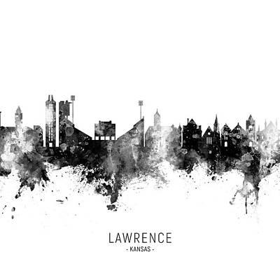 Designs Similar to Lawrence Kansas Skyline
